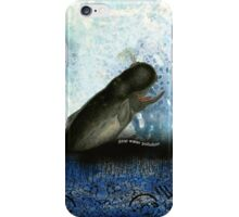 Stop water pollution iPhone Case/Skin