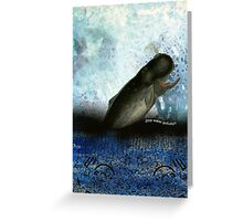 Stop water pollution Greeting Card