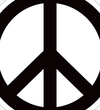 Peace sign symbol Sticker