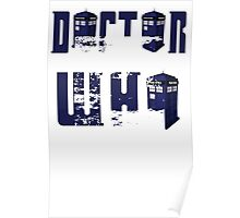doctor who design Poster