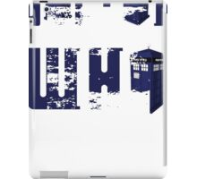 doctor who design iPad Case/Skin