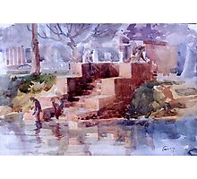 lil pond Photographic Print
