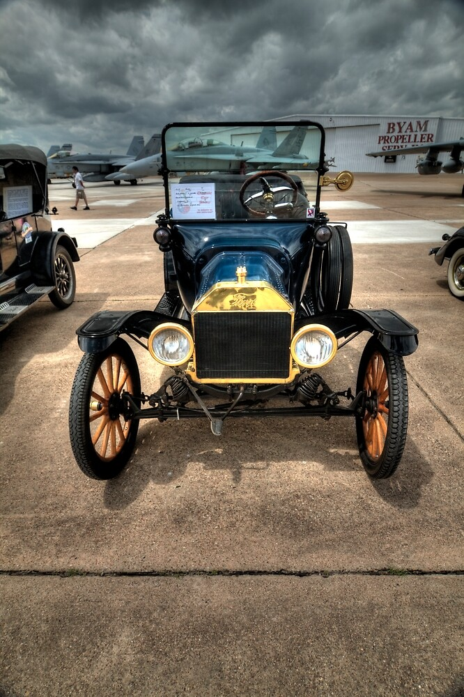 Model T at Warbird Show by Terence Russell