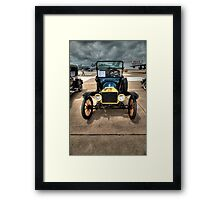 Model T at Warbird Show Framed Print