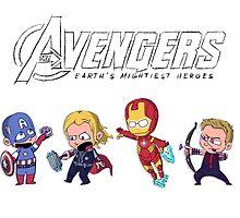 Earth's Mightiest Heroes by Ijsvale