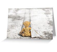 Travel Bug Bear / Bon Voyage Greeting Card