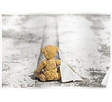 Travel Bug Bear / Bon Voyage Poster