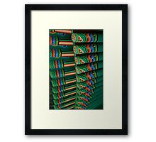 Korean Pavilion - Royal Alberta Museum Framed Print