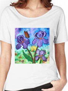 Iris at Sunrise Women's Relaxed Fit T-Shirt