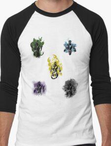 Many faces of Ninjas. Men's Baseball ¾ T-Shirt