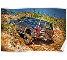 Down and Dirty - Glass House Mountains Poster