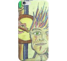 parady of a peacock.......dibo iPhone Case/Skin