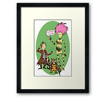 The Guards of the Stars Framed Print