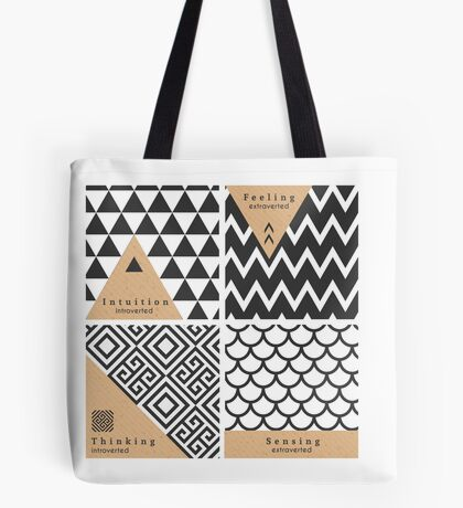 INFJ Cognitive Patterns Tote Bag