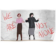 We Are Not Alone Poster