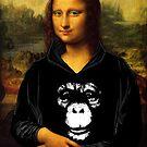 Monkey Lisa by Soxy Fleming