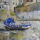 Early Morning, Staithes by Sue Nichol