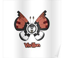 Vivillon a Pokemon shirt Poster