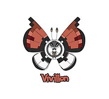 Vivillon a Pokemon shirt Photographic Print
