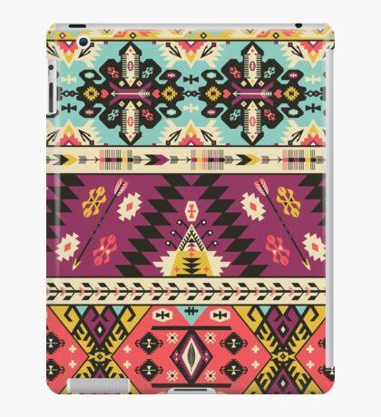 Seamless pattern  in aztec style iPad Case/Skin
