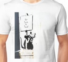 Go back to bed protester  Unisex T-Shirt