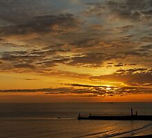 Whitby Sunrise by Rod Johnson