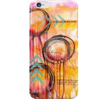 Mixed Media Jellyfish iPhone Case/Skin