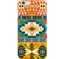 Seamless bright pattern  in tribal style iPhone Case/Skin