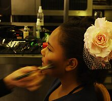makeup artist - My neice imani :) by eisblume
