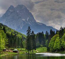 Lake Riessersee II. Germany. by Daidalos