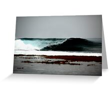 Get Slotted... (the surfing series) Greeting Card