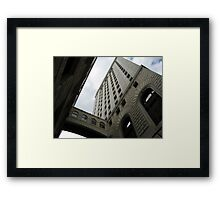 An Old Bank Building in Cincinnati Framed Print