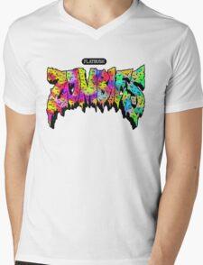 Flatbush Zombies Mens V-Neck T-Shirt