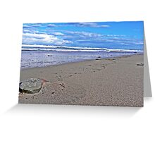 Old Bar beach Greeting Card