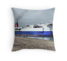 Stenna Pioneer Throw Pillow