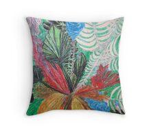 Flowers - vivid Throw Pillow