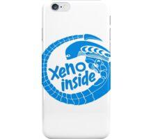 Xeno inside - large blue iPhone Case/Skin