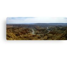 Panorama - Fish River Canyon Canvas Print