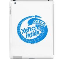Xeno inside - large blue iPad Case/Skin