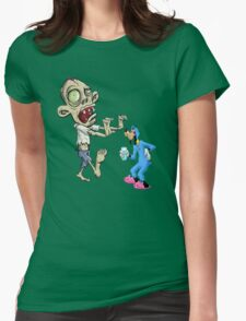 Goofy Womens Fitted T-Shirt