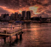 Natures Photoshop - McMahons Point, Sydney Harbour - The HDR Experience by Philip Johnson