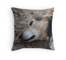 You May Think I'm Sleeping... Throw Pillow