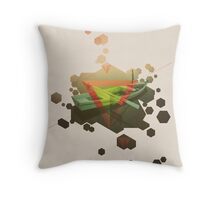 SINKING TO NEW HEIGHTS Throw Pillow