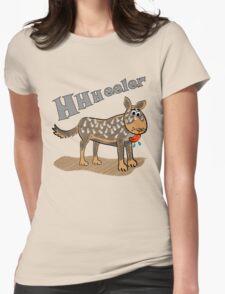 Blue Heeler Womens Fitted T-Shirt