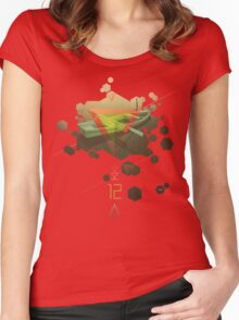 SINKING TO NEW HEIGHTS Women's Fitted Scoop T-Shirt