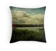 red Sails Throw Pillow