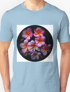 Plumeria Blossoms Unisex T-Shirt