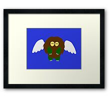 Winged Kuriboh Framed Print