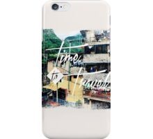 Time to Travel  iPhone Case/Skin