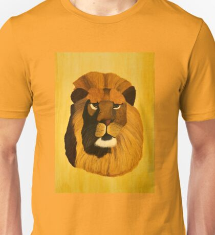 Lion painting Unisex T-Shirt